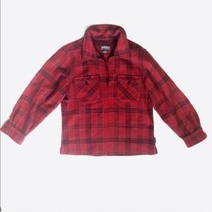 Woolrich Jackets & Blazers - Woolrich Plaid Zip Up Shirt Jacket