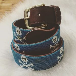 Tucker Blair Other - Men's Tucker Blair Skull and Crossbones Belt