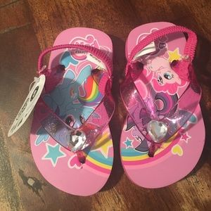 My Little Pony Other - My little pony flip flops