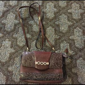 Brighton Handbags - Brighton cross body pebble grain leather