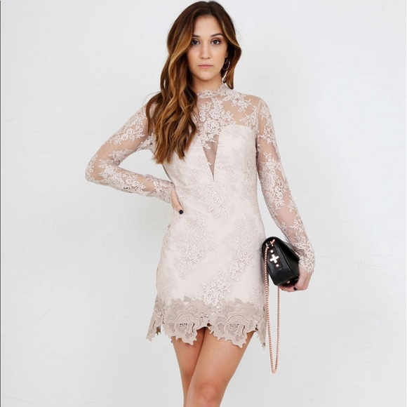d4438ccd65e Free People Dresses   Skirts - Saylor Leondra Mini lace Dress SZ M fits  like S