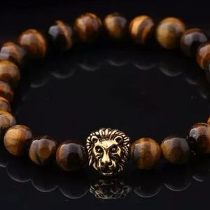 Evolve Always Other - 🆕Tiger Eye Stone With Lion Charm