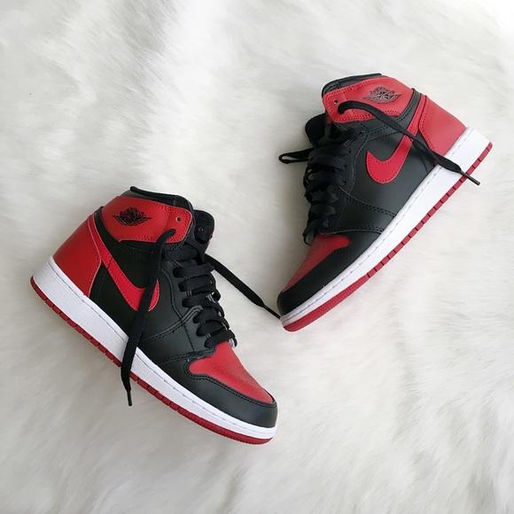 Jordan Shoes - Air Jordan 1 Retro Banned High Sneakers 4.5Y 11ce9abc3