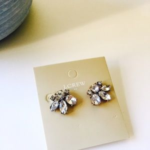 HELLO FALLJ. Crew crystal stud earrings