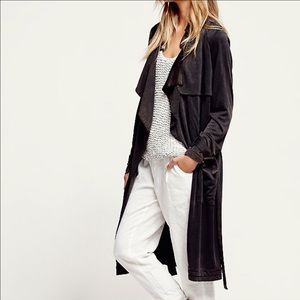 Free People Soft Trench Coat