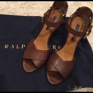 Ralph Lauren Purple Label Shoes - Ralph Lauren Collection Equestrian sandal