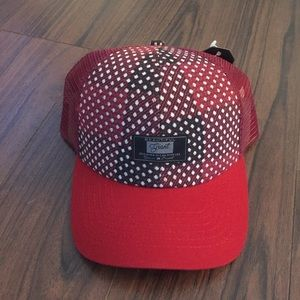 Other - Graphic Red Trucker Hat