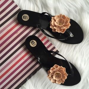 Melissa Shoes - Melissa Harmonic Flower Flip Flop Thong Sandal