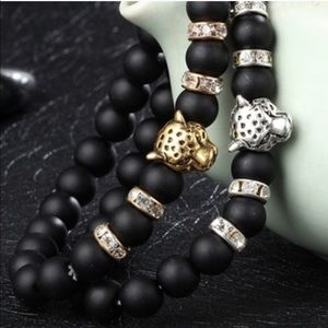 Evolve Always Other - 🆕Beautiful Matte Black Stones With Leopard Faced