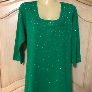 Designer Fontana NEW elegant blouse