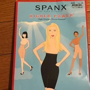 Higher power spanx high waisted power panty new