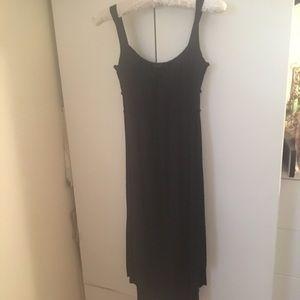 LAmade Dresses & Skirts - LAmade Black Hi Low Jersey Knit Dress