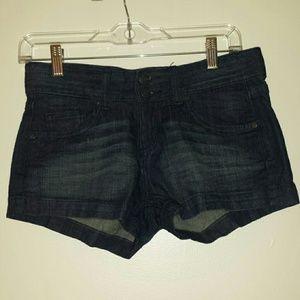 Mossimo Supply Co. Pants - Dark Wash Jean Shorts