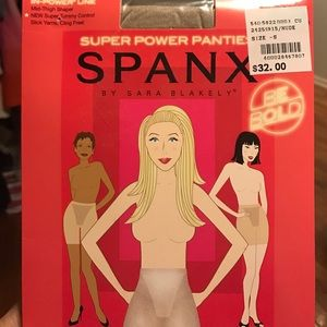Super power panties spanx new color nude