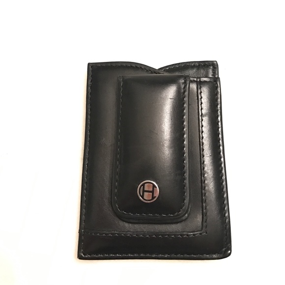 f8d6d25b602 Cole Haan Other - Cole Haan Money Clip wallet Black Leather