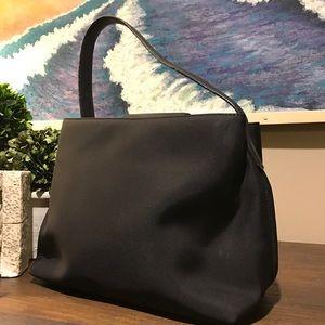 Coach Handbags - Coach Black Mini Leather/ Nylon bag