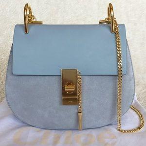 Chloe Handbags - NEW CHLOE SMALL DREW LEATHER & SUEDE SHOULDER BAG