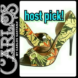 Carlos Santana Shoes - Carlos Santana Leather Stiletto Heels
