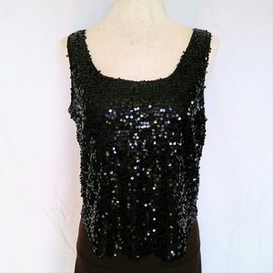 Forever 21 Tops - FOREVER 21 Sequined Tank Top