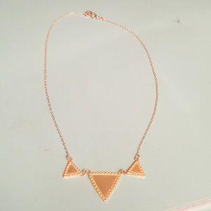 Gorjana triangle necklace
