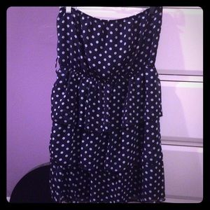 Rue21 Dresses & Skirts - Polka dot strapless dress