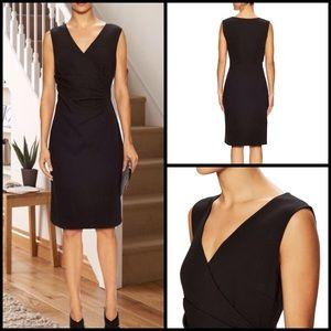 Diane von Furstenberg Dresses & Skirts - Layne Black Ruched Sheath Dress