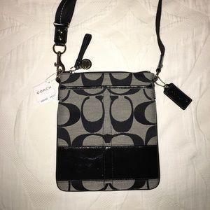 Coach Handbags - NWT Coach Signature Cross-body Bag