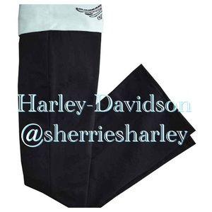 Harley-Davidson Pants - Mint/Black Harley-Davidson Lounge Pant NWT Various
