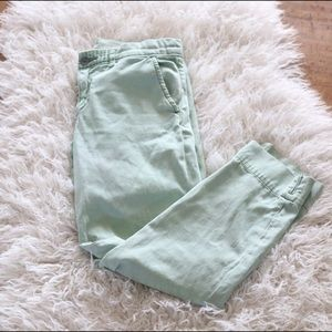 Anthropologie  Pilcro Stet Jeans Greens Ankle 27
