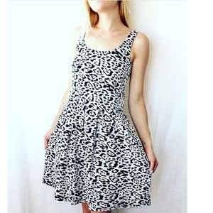 Bloomingdale's Dresses & Skirts - ✨Leopard Print Dress Aqua Brand