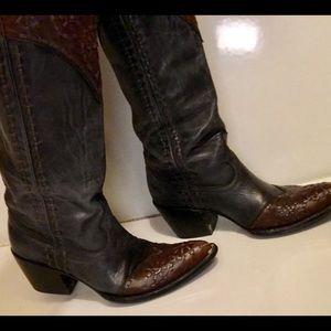 Old Gringo Shoes - Old Gringo BEAUTIFUL unique BOOTS 9B