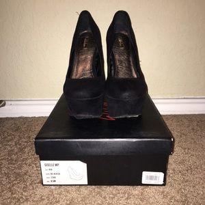 Wild Pair Shoes - Wild Pair Giselle Platform Wedges