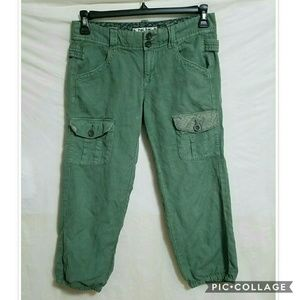 Anthropologie Pants - Hei Hei  {Anthro} cargo crops