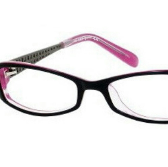 Kate Spade Other Georgette Pink And Black Frames Poshmark