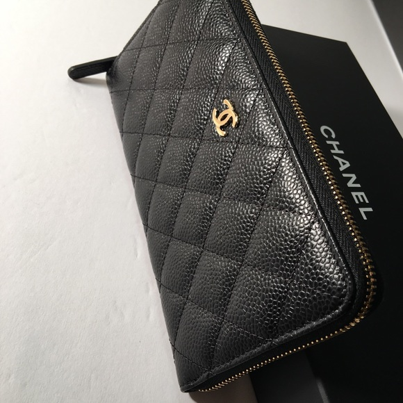 7a81bc794c1907 CHANEL Bags | Auth Classic Zipped Around Long Wallet | Poshmark