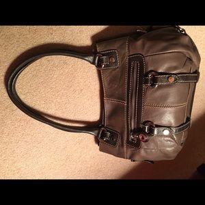 Tignanello Handbags - Tignanello Chocolate Brown Leather Handbag