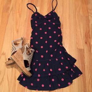 Gilly Hicks Dresses & Skirts - Gilly Hicks lightweight cotton polka dot sun dress