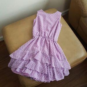 Blush by Us Angels Other - Kids' Purple Dress