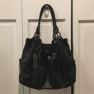 b makowsky Handbags - B Makowsky black leather bag