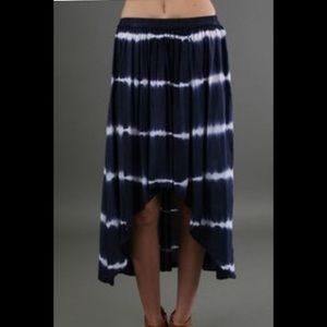 Vintage Havana Dresses & Skirts - Vintage Havana Navy Tie-Dyed High Low Skirt - sz L