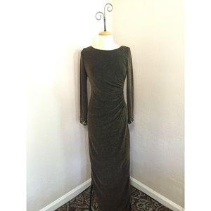 Patra Dresses & Skirts - Parra by Joanna Chen Black w/Gold Shimmer Dress 6