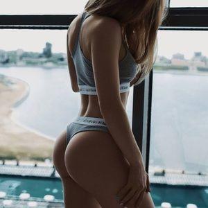 Calvin Klein Underwear Other - $25❤New Medium Calvin Klein Bralette & Thong Set