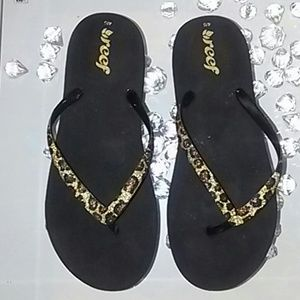 Reef Shoes - REEF leopard  sandals