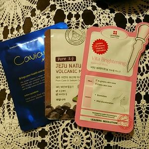Other - Korean Sheet Mask Bundle (3 masks)