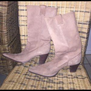 BCBGirls Shoes - BCBGIRLS 9 M Leather Cowboy Boots Pointy Toe BCBG