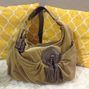 Marc Jacobs Handbags - Marc Jacobs Leather & Suede Hobo