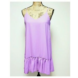 Lulu's Lavender Mini Dress