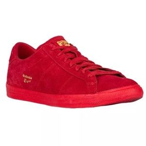 Onitsuka Tiger Shoes - NEW In Box 8 Onitsuka Tiger Red Suede Shoes