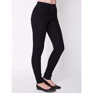 American Apparel Denim - American apparel easy Jean black xs