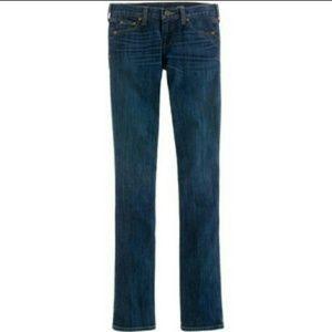 J. Crew Denim - J. Crew Straight Leg Matchstick Jeans Plus Size 33